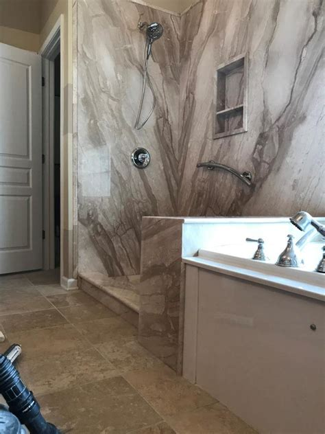 groutless bathroom re bath your complete bathroom remodeler charlotte nc