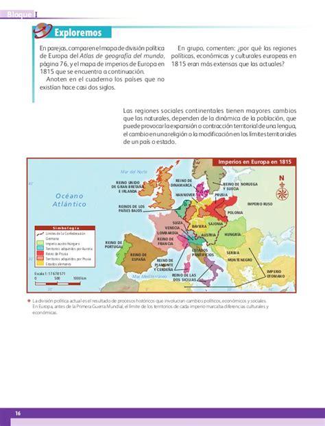geografa 5 2015 2016 by la galleta issuu libro de geografia de 5 grado pagina 95 2016 geografia 5
