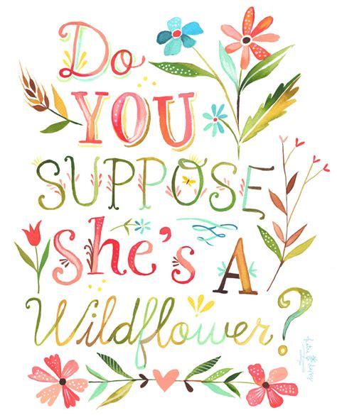 printable alice in wonderland flowers she s a wildflower print vertical print alice in