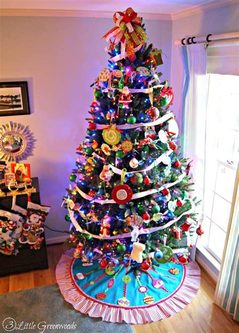 diy no sew christmas tree skirt 3 little greenwoods
