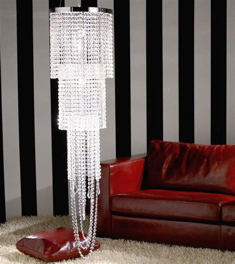 gocce di cristallo per ladari vendita tripla cascata di cristallo illuminazione a prezzi scontati