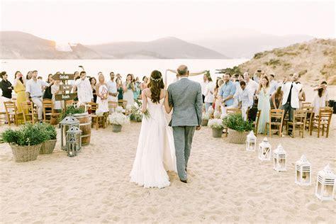alemagou beach wedding in mykonos island