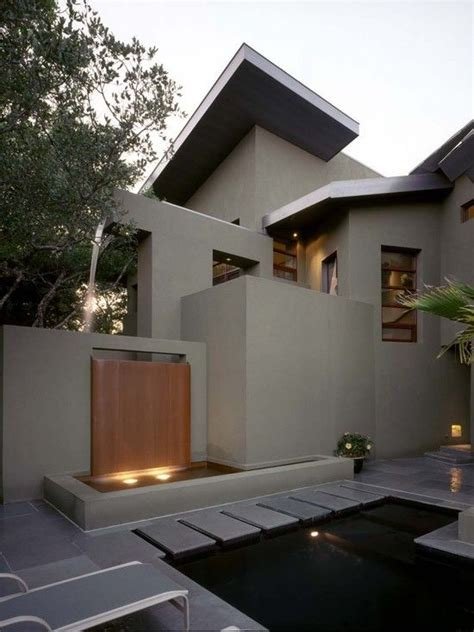 contemporary stone  stucco design pictures remodel