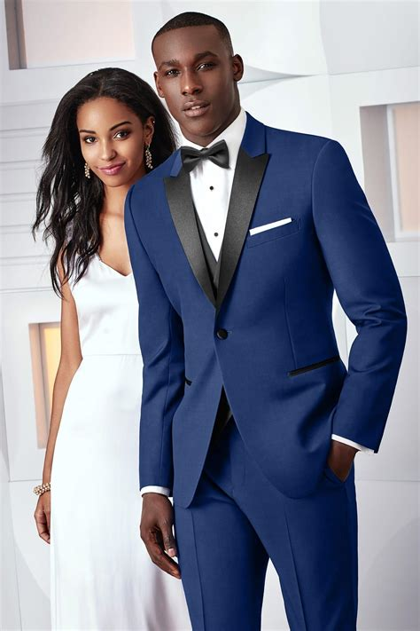 Ike Behar Ultra Slim Cobalt Blue Tribeca Ultra Slim Fit Tuxedo   Jim's Formal Wear