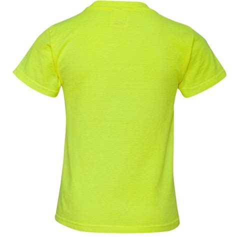 neon blue comfort colors comfort colors 9018 youth garment dyed ringspun t shirt neon yellow fullsource com