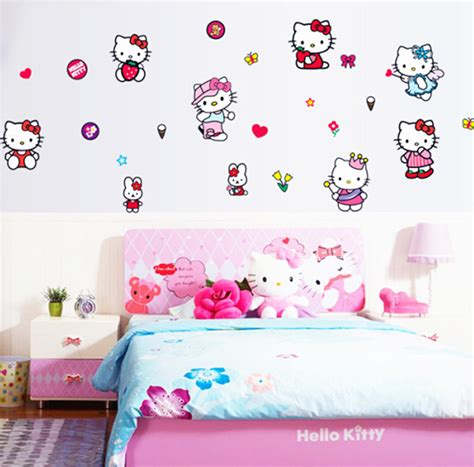 wallpaper anak pink online buy grosir hello kitty wallpaper from china hello