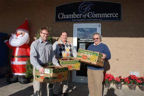 programs for the needy at christmas updated chamber sends 120 baskets to local needy families daily bulldog
