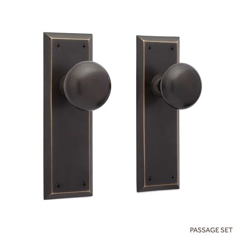 How To Install Door Knob On New Door by Eloise New York Door Plate And New York Knob Set