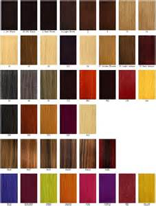 different color different hair color chart hair color