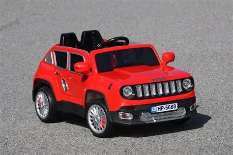 red toy jeep jeep renegade ride on toy car 12volts remote control red