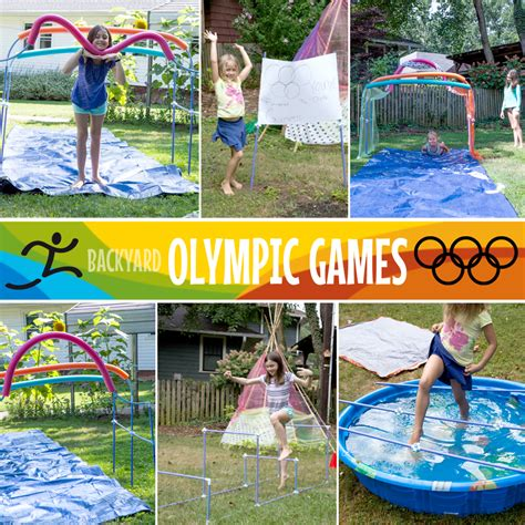 backyard olympics ideas backyard summer olympics a fort celebration of olympic