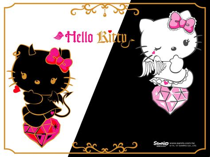 wallpaper hello kitty couple hello kitty wallpaper cute hello kitty emo wallpaper