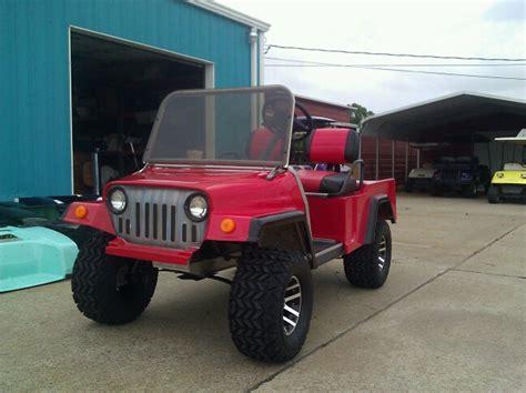 Jeep Golf Cart Custom Golf Carts Golf Carts Of