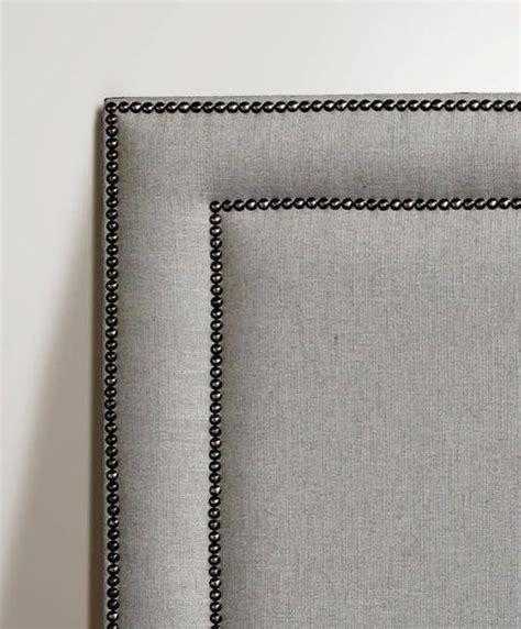 Diy Studded Headboard Studded Frame Headboard Interior Headboards Pinterest Bedrooms Master Bedroom And