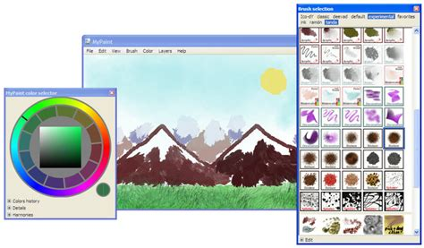 painting for computers mypaint