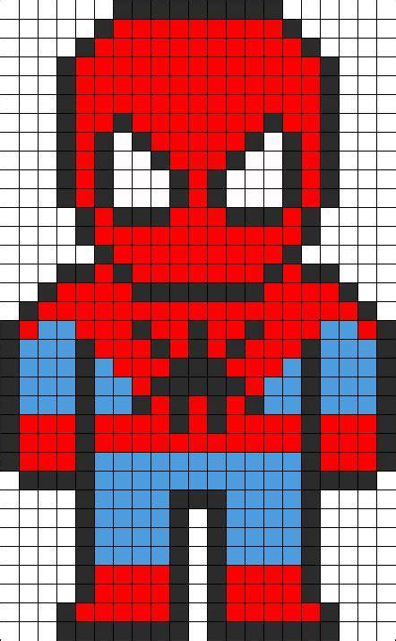 spiderman needlepoint pattern spiderman perler bead pattern http mistertrufa net