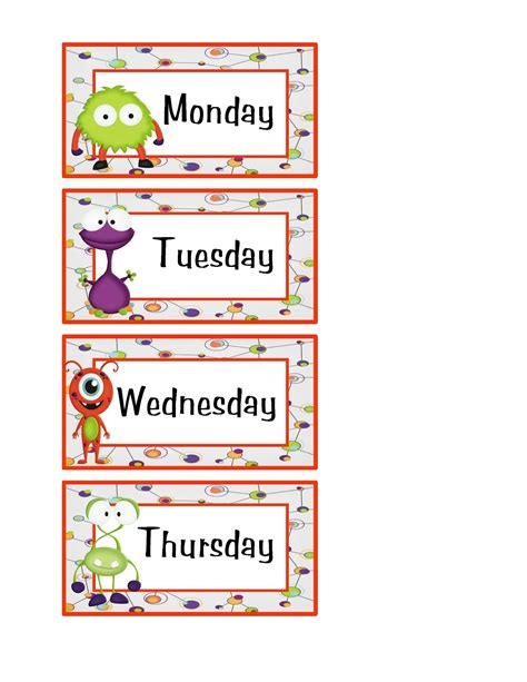 printable week days free days of the week worksheets activity shelter
