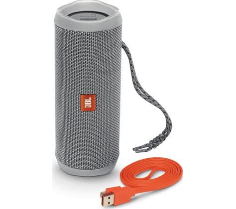 Speaker Jbl Flip 4 jbl flip 4 portable bluetooth wireless speaker grey