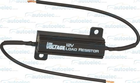 12 volt resistor for led low voltage led load resistor 12v volt bullbar front