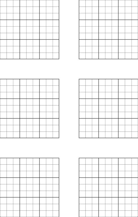 printable sudoku one per page 5 best images of blank sudoku grids printable 4 x 4 grids