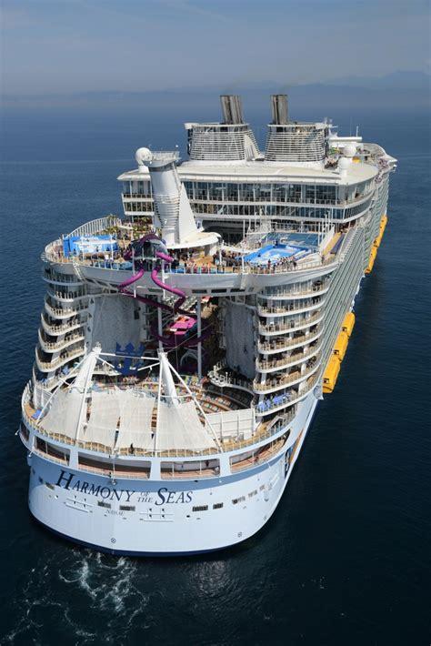 royal caribbean largest ship royal caribbean s harmony of the seas transatlantic