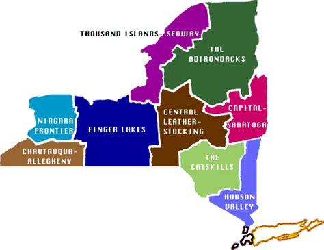 map of upstate new york counties upstate new york regional map