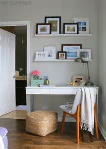 bedroom corner desk how to hide desk cords diy playbook