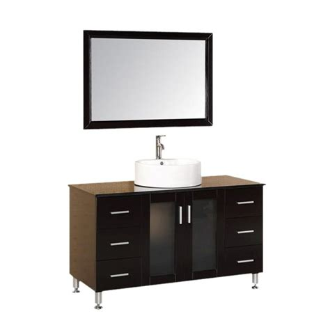 home depot design element vanity design element malibu 48 in w x 22 in d vanity in