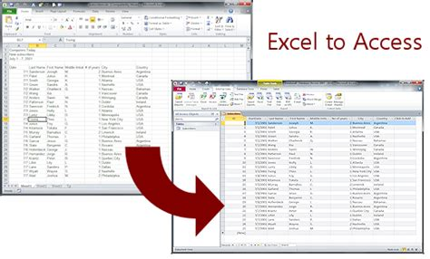 Convert Excel Spreadsheet To Access Database 2010 by Tables Import Spreadsheet Tables Queries Jan S Working With Databases