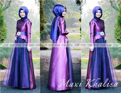 Dress Gamis Muslim Wanita Vanya Jumbo Maxi gamis pesta maxi khalisa p 616