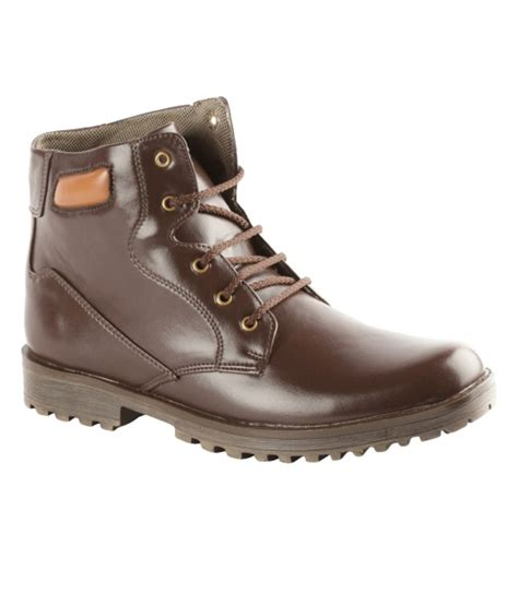 bacca bucci brown boots bacca bucci comfortable brown boots price in india buy