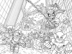 marvel coloring pages marvel squad coloring pages coloring