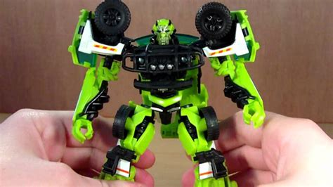 Kaos Transformers Autobot Ratchet transformers dotm deluxe ratchet review