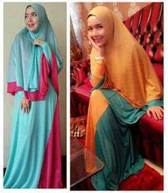 Gamis Andini Fashion 2 baju muslim on brokat spandex and muslim