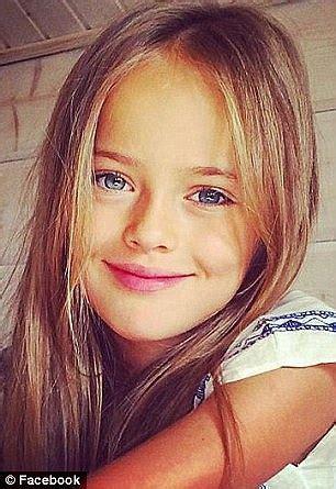 10yo nidist girls elizabeth hiley looks exactly like supermodel kristina