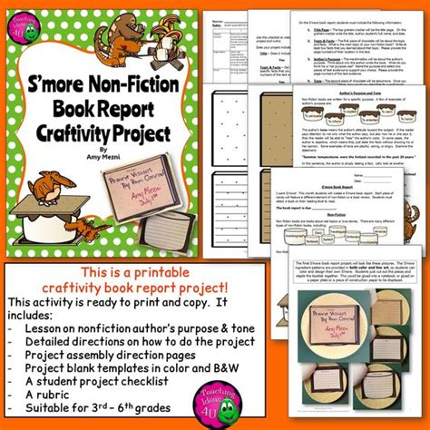 Non Fiction Book Report For Kindergarten by Home Projects Home And Nonfiction On