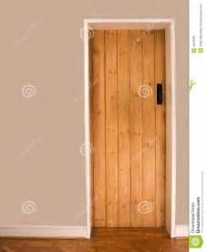 wooden interior door royalty free stock photo image