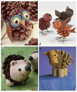 pine cone craft crafty ideas pinterest