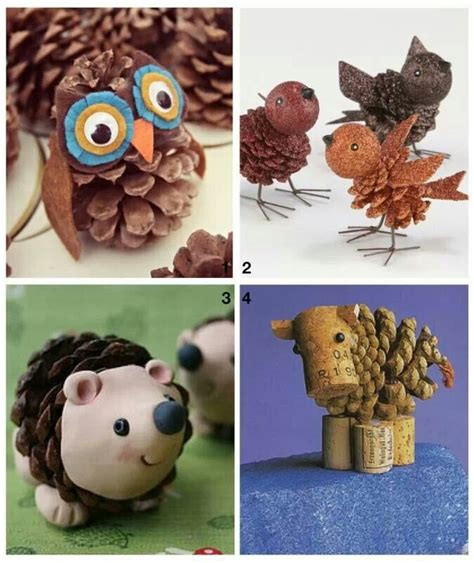 crafts with pine cones pine cone craft crafty ideas