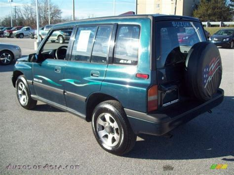 1995 suzuki sidekick jx 4 door 4x4 in emerald green
