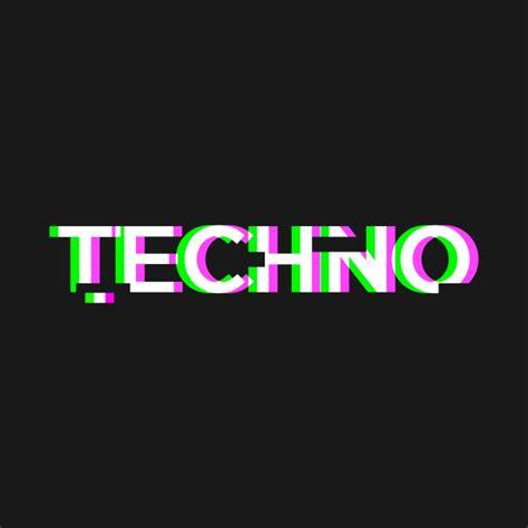 Techno Musik retro glitch techno edm techno t shirt