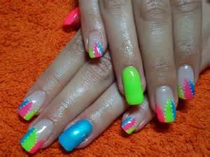 bright color nail designs 15 colorful nails for summer pretty designs
