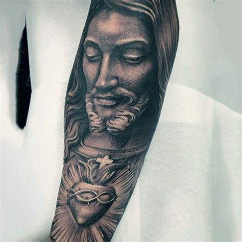 tattoo black jesus 100 jesus tattoos for men cool savior ink design ideas