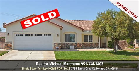 Michael House Sold by Your Local Realtor Michael Marchena Serving Temecula