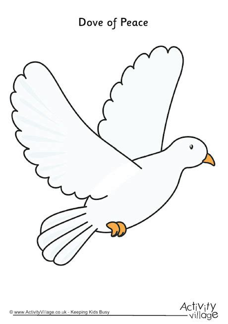dove of peace template 6 best images of dove template printable dove outline