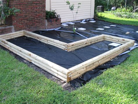 Landscape Fabric In Raised Beds Growing Food In Florida How To Build A Garden Part 2