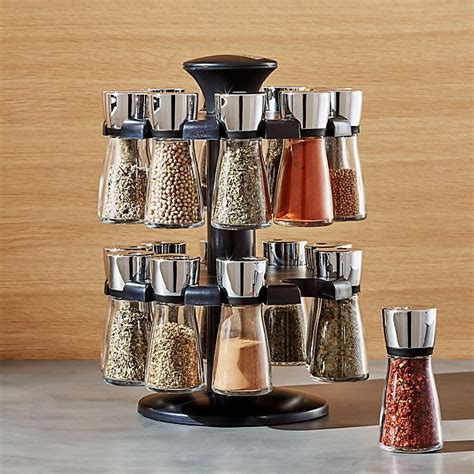 Cole and Mason 20 Jar Herb and Spice Rack   Crate and Barrel