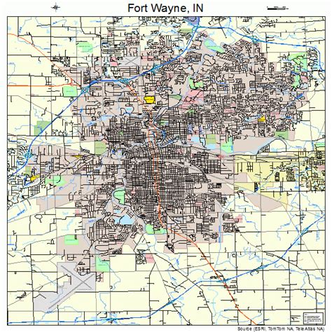 section 8 fort wayne fort wayne city map pictures to pin on pinterest pinsdaddy