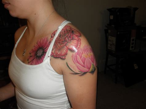 july birth flower tattoo top about a month images for tattoos