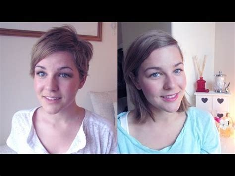 pixie cut at 3 months pixie cut update one year on youtube
